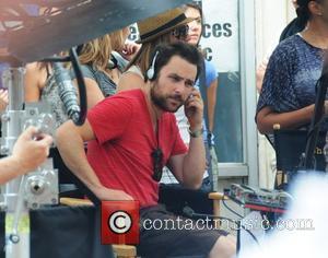 Charlie Day 'It's Always Sunny in Philadelphia' film set on Jewelers Row in Philadelphia Philadelphia, USA - 23.06.11