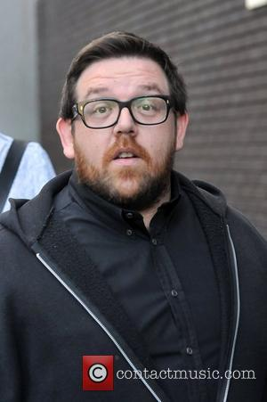 Nick Frost at the ITV studios London, England - 09.05.11