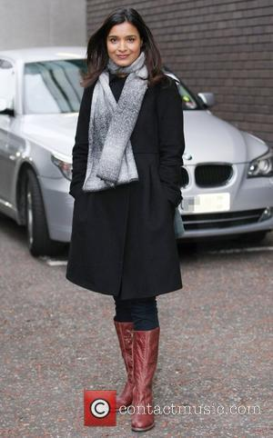 Shelley Conn at the ITV studios London, England - 10.03.11