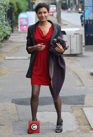 Shelley Conn at the ITV studios London, England - 10.11.11
