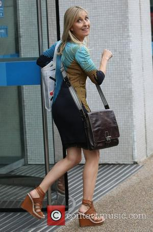 Fiona Phillips at the ITV studios London, England - 11.08.11