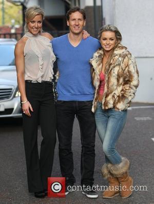 Natalie Lowe, Brendan Cole and Ola Jordan at the ITV studios London, England - 17.11.11