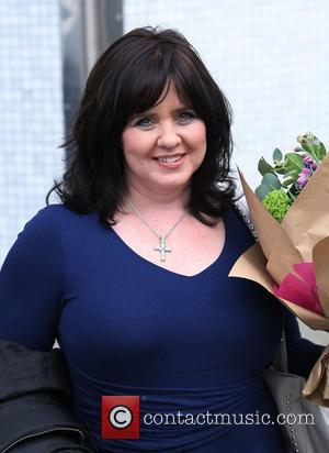 Coleen Nolan Celebrities outside the ITV television studios London, England - 10.03.11