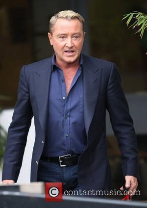 Michael Flatley Celebrities outside the ITV television studios London, England - 10.03.11
