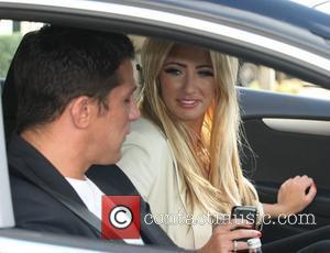 Alex Reid and Chantelle Houghton at the ITV studios London, England - 21.10.11