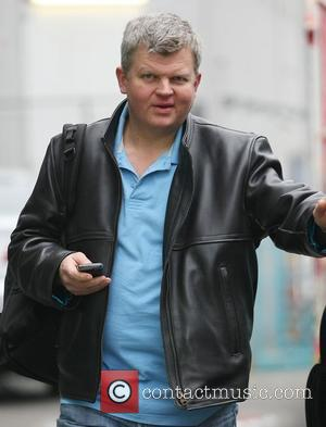 Adrian Chiles leaving the ITV studios following the news that he has been axed from Daybreak  London, England -...