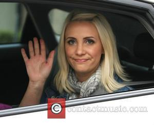 Claire Richards leaves the ITV studios London, England - 23.06.11