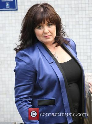 Coleen Nolan outside the ITV studios London, England - 01.06.11