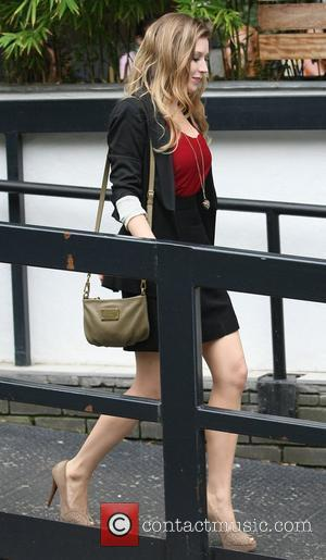 Hayley Westenra outside the ITV studios London, England - 20.09.11