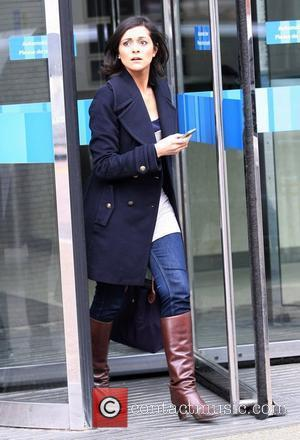 Lucy Verasamy  at the ITV studios London, England - 24.02.11