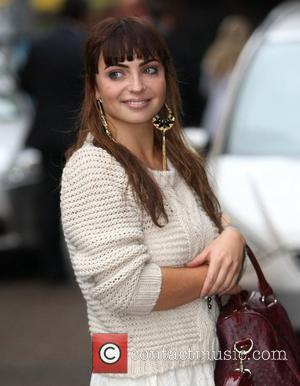Sophie Habibis at the ITV studios London, England - 31.10.11