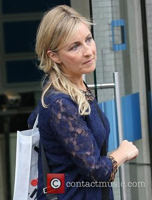 Fiona Phillips at the ITV studios London, England - 16.08.11