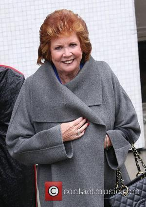 Cilla Black at the ITV studios London, England - 18.03.11