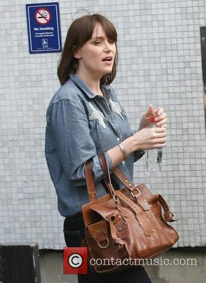 Keeley Hawes Celebrities outside the ITV television studion London, England - 18.0411
