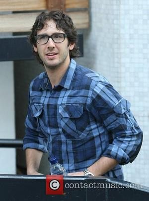 Josh Groban Forgets His Shoes For Tv Show