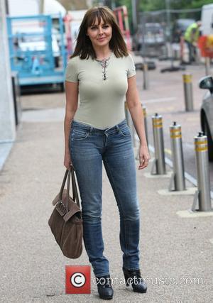 Carol Vorderman at the ITV studios London, England - 24.08.11
