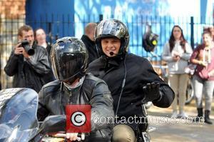 Jeff Brazier at the ITV studios London, England - 05.09.11