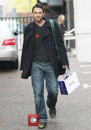 Dougray Scott at the ITV studios London, England - 10.11.11