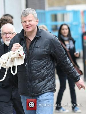 Adrian Chiles at the ITV studios London, England - 14.04.11