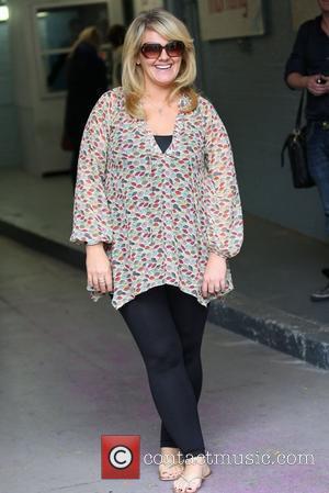 Sally Lindsay at the ITV studios London, England - 17.08.11
