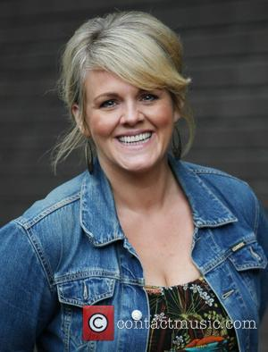 Sally Lindsay at the ITV studios London, England - 24.08.11