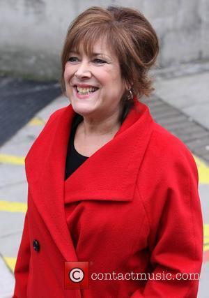 Lynda Bellingham at the ITV studios London, England - 21.02.11