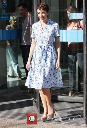 Dannii Minogue  at the ITV studios  London, England - 29.09.11