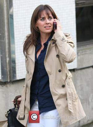 Jill Halfpenny Celebrities outside the ITV studios London, England - 13.09.11