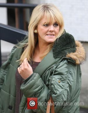Sally Lindsay at the ITV studios London, England - 28.10.11