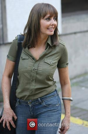 Carol Vorderman at the ITV studios London, England - 29.09.11