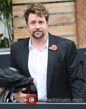 Michael Ball outside the ITV studios London, England - 10.11.11