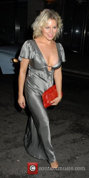 Abi Titmuss ITV At The Movies Oscars Party held at the Sanctum Soho Hotel - Outside Arrivals London, England -...