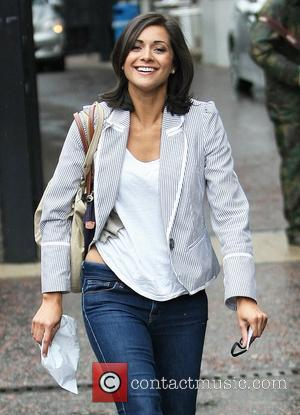Lucy Verasamy leaves the ITV studios London, England - 06.06.11