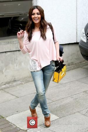 Laila Rouass outside the ITV television studios London, England – 13.04.11