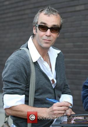 John Hannah outside the ITV studios London, England - 04.04.11