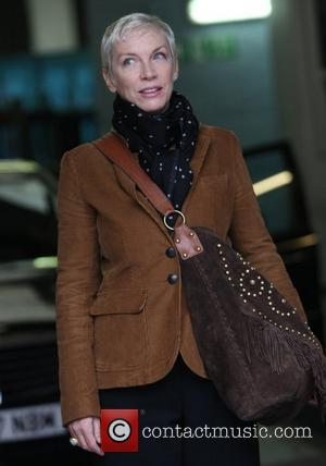 Annie Lennox at the ITV studios London, England - 07.10.11