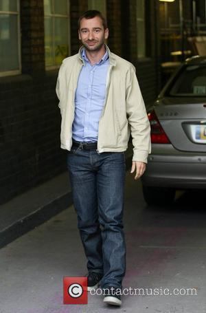 Charlie Condou at the ITV studios London, England - 07.10.11
