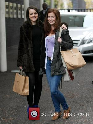 Amy Nuttall at the ITV studios London, England - 07.11.11