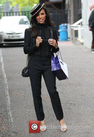 Melody Thornton at the ITV studios London, England - 17.06.11