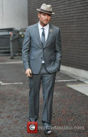 Matt Goss outside the ITV studios London, England - 18.10.11