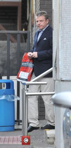 Suggs leaving the ITV studios London, England - 19.05.11