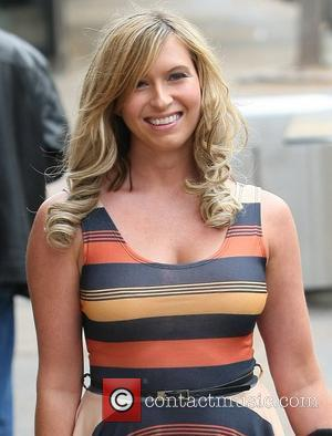 Brooke Kinsella at the ITV studios London, England - 26.09.11