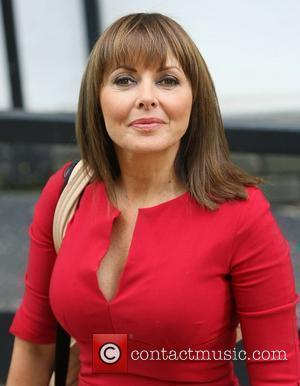 Carol Vorderman leaving the ITV studios London, England - 06.10.11