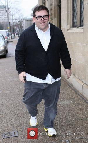 Nick Frost at the ITV studios London, England - 11.02.11