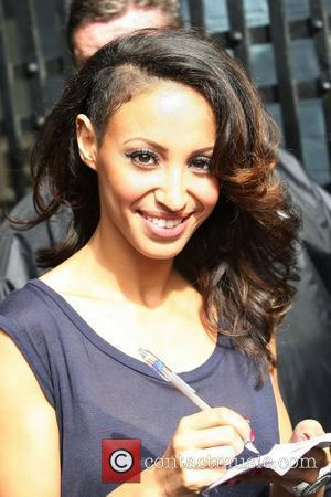 Amelle Berrabah of Sugababes at the ITV studios London, England - 12.09.11