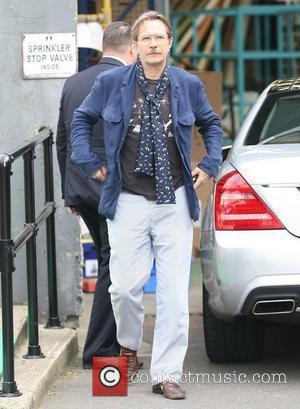 Gary Oldman outside the ITV studios London, England - 16.09.11
