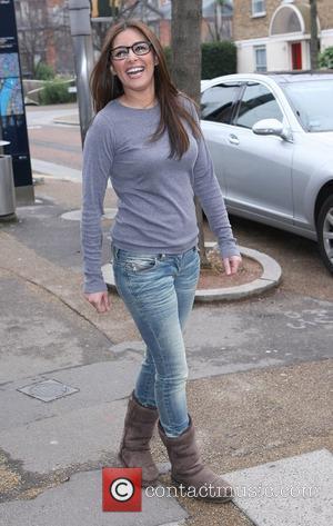 Laila Rouass at the ITV studios London, England - 22.02.11