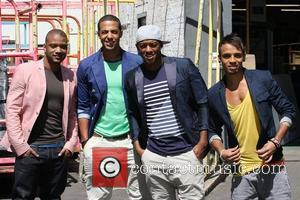 Aston Merrygold and Jls