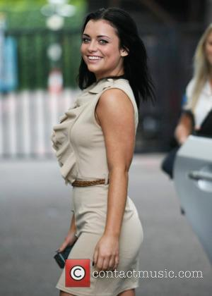 Shona McGarty at the ITV studios London, England - 25.08.11