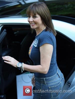 Carol Vorderman at the ITV studios London, England - 28.09.11